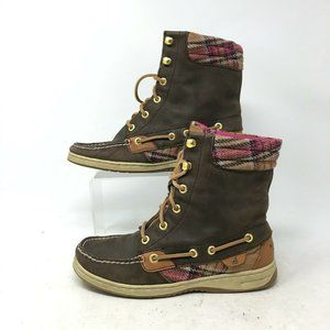 Sperry Top Sider Hikerfish Hiking Ankle Boots Pink